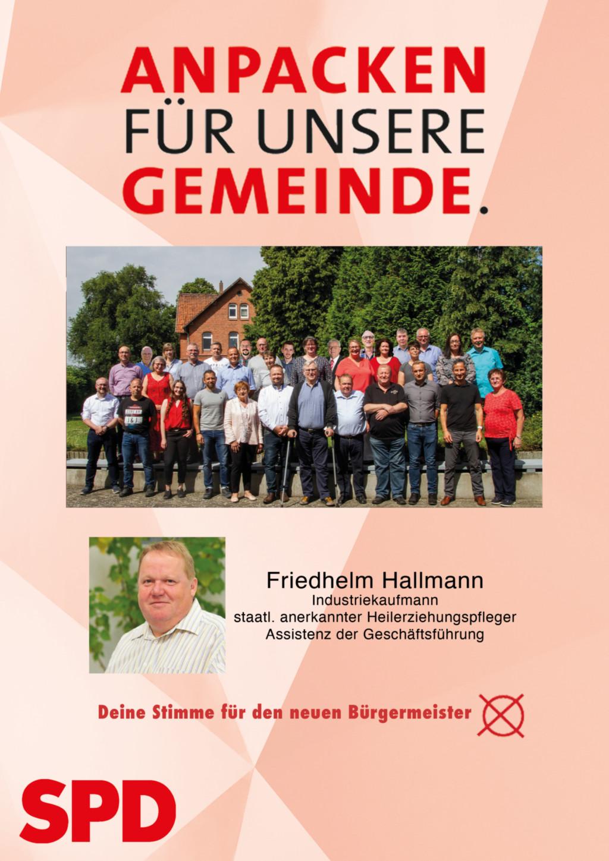 Buergermeisterkandidat Hallman